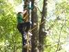 Vysoké lanové překážky